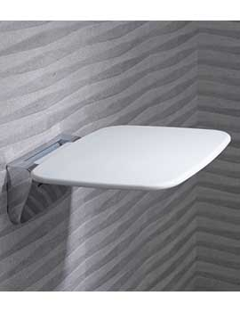 Roper Rhodes Compact Thermoset Shower Seat - 8020  By Roper Rhodes