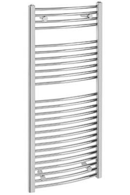 Sheths Chrome Curved Towel Rails  By Sheths