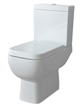 Sheths RAK Series 600 C/C Toilet Open With Soft Close Seat  By Sheths