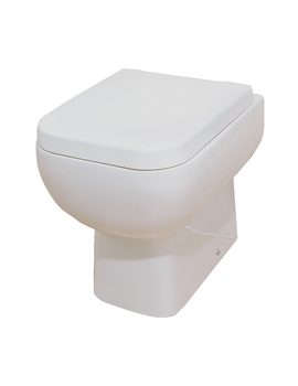 Sheths RAK Series 600 Back To Wall WC With Toilet Seat  By Sheths