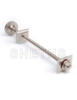 Sheths Cast Iron Radiator Luxury Wall Tie - Satin Brushed Nickel  By Sheths