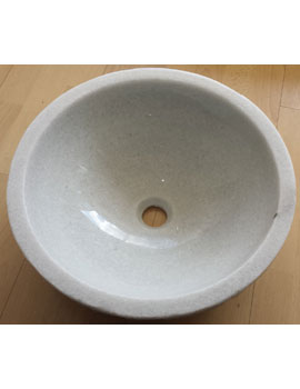 Sheths Natural Marble Counter top Basin 430mm  By Sheths