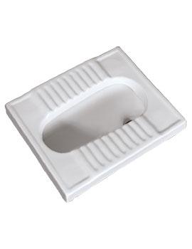 Sheths Medium Asian Toilet (Squatting Pan)  By Sheths
