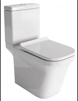Sheths SI FDry Close Coupled Toilet with Soft Close Seat  By Sheths