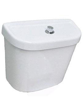 Sheths Ceramic Low Level Cistern With Single Flush  By Sheths