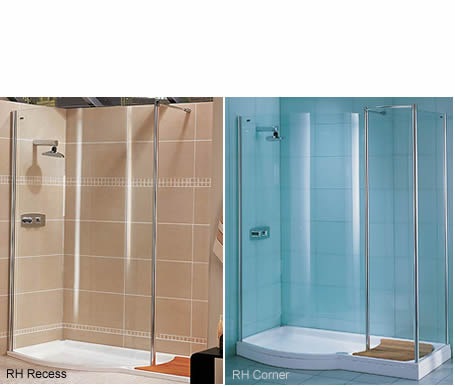 walk in shower shower screen curved walk in straight