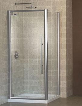 ShowerLux Linea Touch Pivot Door & ShowerLux - Shower Doors | Sliding Shower Door | Pivot Shower Doors ...