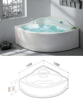 Corner bath sale whirlpool corner bath tub whirlpool offset corner bath jacuzzi bath sale - Teuco whirlpool ...