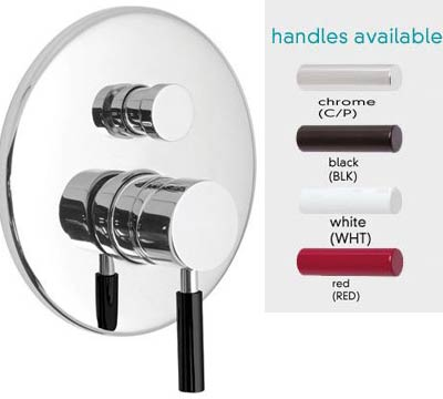 Vado Nuance Wall Mounted Concealed Shower Mixer With Diverter  By Vado