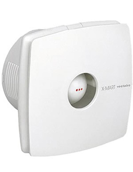 Vectaire X-Mart Extractor Fan 10cm in White  By Vectaire