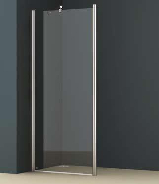 Vessini E Series Walk-in Shower Screen End Panel By Vessini