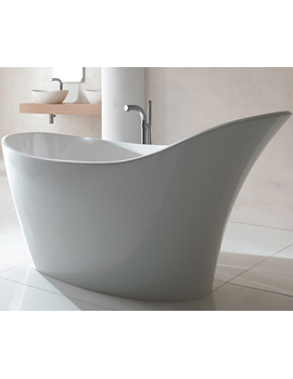Victoria Albert Amalfi Contemporary Slipper Bath