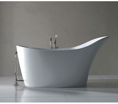 Victoria Albert Amalfi Contemporary Slipper Bath AML N SW