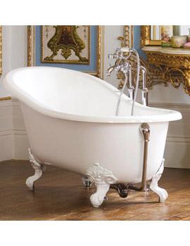 Slipper Bath Uk Victoria albert shropshire classic slipper bath shr n sw sisterspd