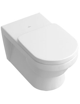 Villeroy and Boch Architectura Wall Mounted 370mm Washdown WC Vita - 567810  By Villeroy and Boch