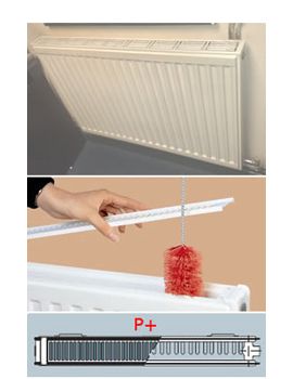 Vogel & Noot Vienna Line Double Panel [P+] Radiators 500mm High  By Vogel & Noot