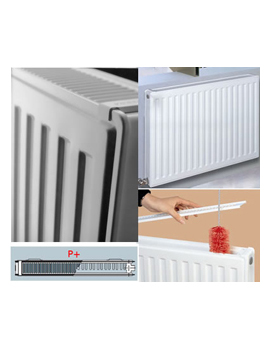 Vogel & Noot New Vienna Line Double Panel [P+] Radiators 300mm High  By Vogel & Noot