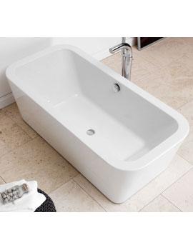 Waters Linear Bracken Freestanding Bath  By Waters