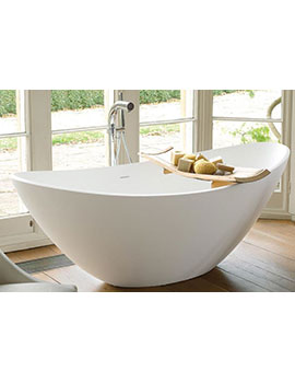 Waters Elements Breeze 1720mm Freestanding Bath - BREEZE  By Waters