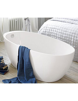 Waters i-line Fjord 1700mm Freestanding Bath - FJORD  By Waters