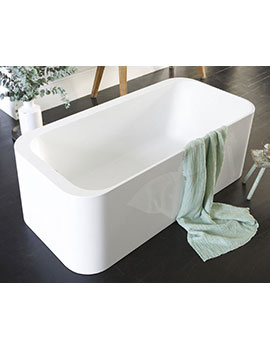 Waters I-Line Lake 1600mm Freestanding Bath - LAKE2  By Waters