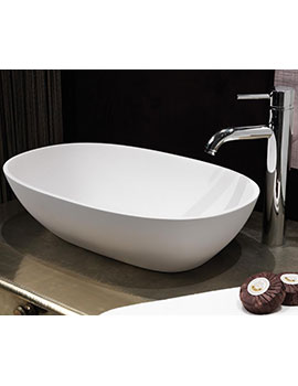 Waters Elements Dawn Stone Basin 550mm  By Waters