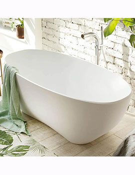 Waters Elements Evolve Freestanding Bath 1680mm  By Waters