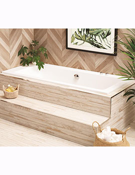 Waters Botanics Hydra Drop-in Bath Double Ended  By Waters